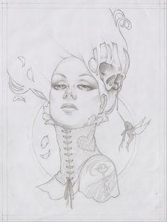 Glenn Arthur sketch -wow