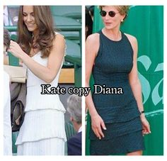 Kate Middleton copy princess Diana