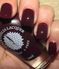 Black Dahlia Lacquer Blood Roses