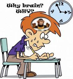 Not now brain