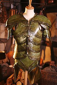 Emerald Noble Elf Armor