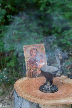 Orthodox Prayers, Orthodox Christianity, Sacred Garden, Prayer Corner, Meditation Garden, Home Altar, Faith In Love, Religious Icons, Spiritual Gifts