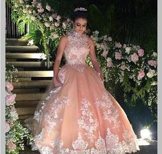 Cheap sweet 16 dresses, Buy Quality quinceanera dresses directly from China 16 dresses Suppliers: DK Bridal Vintage Halter Lace Appliques Quinceanera Dresses Vestidos 15 Anos Quinceanera 2017 Beaded Sweet 16 Dresses Ball Gown Prom Dresses 2017, 15 Dresses, Ball Dresses, Formal Dresses, Elegant Dresses, Sexy Dresses, Summer Dresses, Dress Prom, Gowns 2017