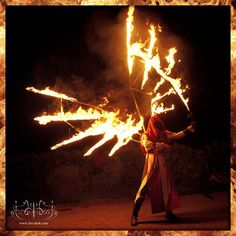 fire angel with flaming sword