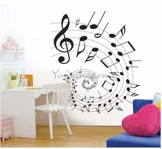 Musical note decorations - is this what you were talking about?