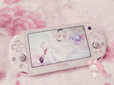 Light-Pink Source by bunniiichu_ Aesthetic Grunge, Pink Aesthetic, Baby Baby, Kawaii Games, Pink Games, Anime Triste, Kawaii Bedroom, Nintendo Switch Accessories, Otaku Room