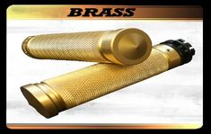 Accutronix Grips for FLH Motorcycles Harley Wheels, Harley Davidson Motorcycles, Chrome Plating, Brass, Rice