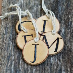 Tree+Branch+Christmas+Ornaments++Monogrammed+or+by+thesittingtree,+$40.00