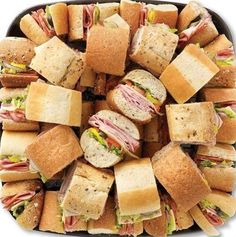 Sub Sandwich Platter