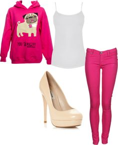 """""""PUGLY!!!"""" by monicadenson on Polyvore"""