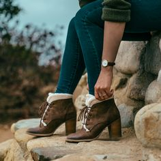 Perfect booties for the colder weather. Restricted Shoes Tap Tap boots.