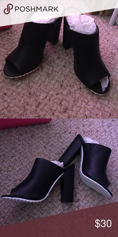 Slip on mules Never worn! BNWOT. Can ship today or tomorrow! Shoes Mules & Clogs