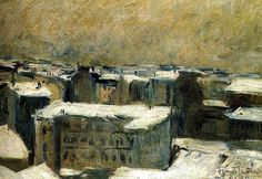 Roofs of Paris, 1900 Francis Picabia