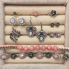 Need a jewelry box refresh? Try these new Spring-perfect picks – now available on my #chloeandisabel boutique!