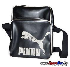 82b4d62e37c Puma Originals Flight Bag fekete - fehér puma oldaltáska
