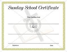 Blank certificate award | Preschool | Pinterest | Blank certificate