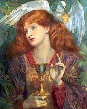 Mary with the Grail Rossetti