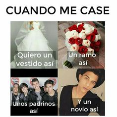 Read 5 Cuando me case from the story CNCO Memes by AngelaNayelITMR (CNCOMisterios! Memes Cnco, Best Memes, Why Dont We Imagines, My Only Love, Fine Boys, Budgies, Pretty Boys, Reggae, Boy Bands
