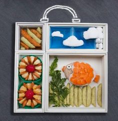 Create fun lunch ideas for kids with #Lunchspiration by @harvestsnaps…