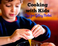 Kids raised in the kitchen become healthier, more adventurous eaters. Here's how to get children cooking while keeping accidents and messes to a minimum.