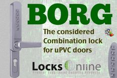 Borg 6000 combination lock  http://community.locksonline.co.uk/2012/09/locksonline-borg-6100-mechanical-keyless-upvc-handle-combination-change-guide-2/#
