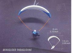 MiniGlider Paragliding Toy Souvenir Airtime Flying Inspired by Niviuk Artik Hang Gliding, Paragliding, Gliders, Mini, Blue Fly, Inspiration, Ebay, Inspired, Biblical Inspiration
