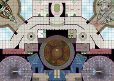 Star Wars RPG Maps | Cloud City Tile Set C
