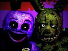 Purple Guy vs Springtrap - Epic Rap Battles of Five Nights at Freddy's - YouTube
