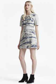 FRENCH CONNECTION DERAIN STITCH BACK CUT OUT DRESS. #frenchconnection #cloth #