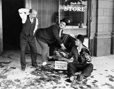 """James Finlayson, Stan Laurel & Oliver Hardy - Liberty, 1929."""