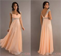 2014 Custom Long Crystals ball gown prom dress Formal by Bestprom, $89.00