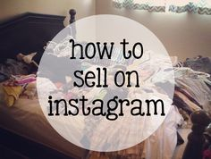DIY Things to Sell | how to sell on instagram