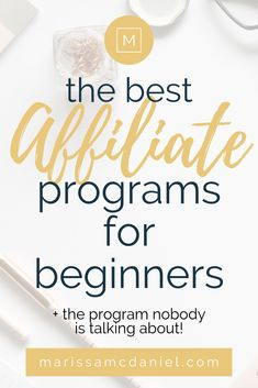 Affiliate marketing is a great way to make money blogging. Part of affiliate marketing is finding the right programs to join and figuring out how to use affiliate links. Check out my most recent blog post on some of the best affiliate programs for beginners PLUS learn more about the affiliate program that nobody is talking about! #affiliatemarketingforbeginners #affiliatemarketingforbloggers #affiliatemarketing #howtomakemoneyblogging