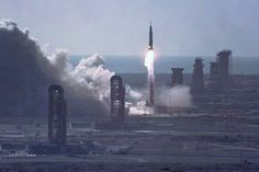 John Glenn 50th anniversary, Atlas/Mercury launch, Pad 14, February 20, 1962, via Flickr.