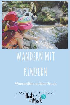 Wandern mit Kindern - wir haben einen genialen Tipp. In Bad Urach könnt ihr eine tolle Familien-Wanderung zu den Wasserfällen machen