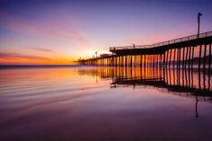Pismo Beach Pier at Sunset - Bill Richards/Flickr/CC BY-NC 2.0