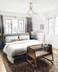 Bedroom beauty ready for baby.