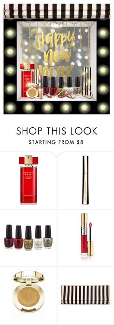 """""""New Year, New You // Store Niche"""" by divine-designer ❤ liked on Polyvore featuring beauty, Estée Lauder, Clarins, Yves Saint Laurent and Milani"""