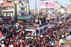 """Akhilesh Yadav aims to focus more on society by planning to prmote """"people alliance""""."""