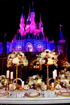 You can now get married at the Magic Kingdom after hours and it's totally magical | Disney Wedding inspiration | [ http://di.sn/600186AFL ]