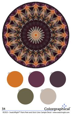 Color Inspiration 34 Benjamin Moore Paint Colors - Swatch Right™ #paint #colors with HEX codes. www.swatchright.com