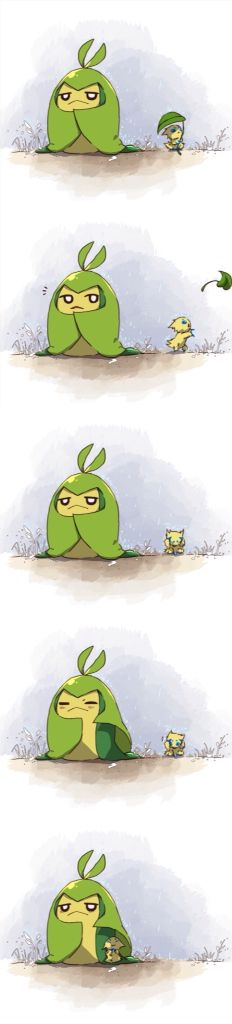 pokemon joltik and swadloon