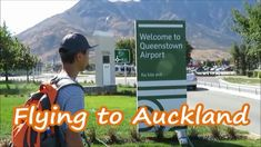 Flying to Auckland, Queenstown Airport, New Zealand We visited Queenstown in January, this was our last day in Queenstown, We walked around airport area and . Auckland, New Zealand, News, City
