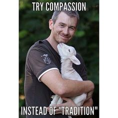 """love a lambs -- try compassion instead of """"tradition"""" -- why finance animal cruelty vegan compassion Vegan Memes, Vegan Quotes, Vegan Facts, Why Vegan, Stop Animal Cruelty, Vegan Animals, Save Animals, Animal Welfare, Vegan Lifestyle"""