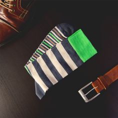 "Czech sock design ""Striped Morning"" http://store.boxforking.cz"