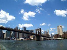 Brooklin Bridge and skyline