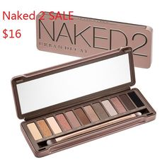 Enjoy Discount Urban Decay 2 eyeshadows online Great items , Must Mave for every Lady