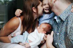 At home family newborn photos by Kaley Cornett