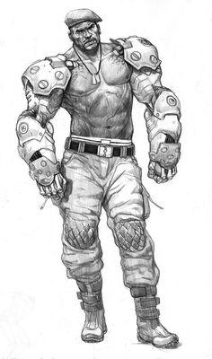 Jax Briggs by *AlexPascenko on deviantART