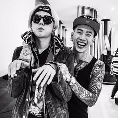 Zico and Jay Park in Mommae